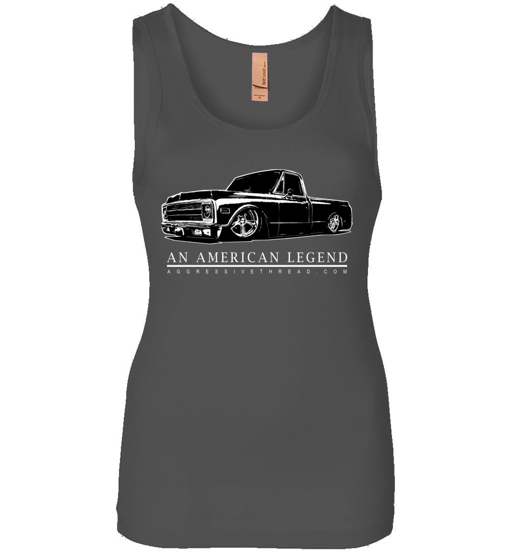 70-72 C10 Chevy Truck Womens Tank Top