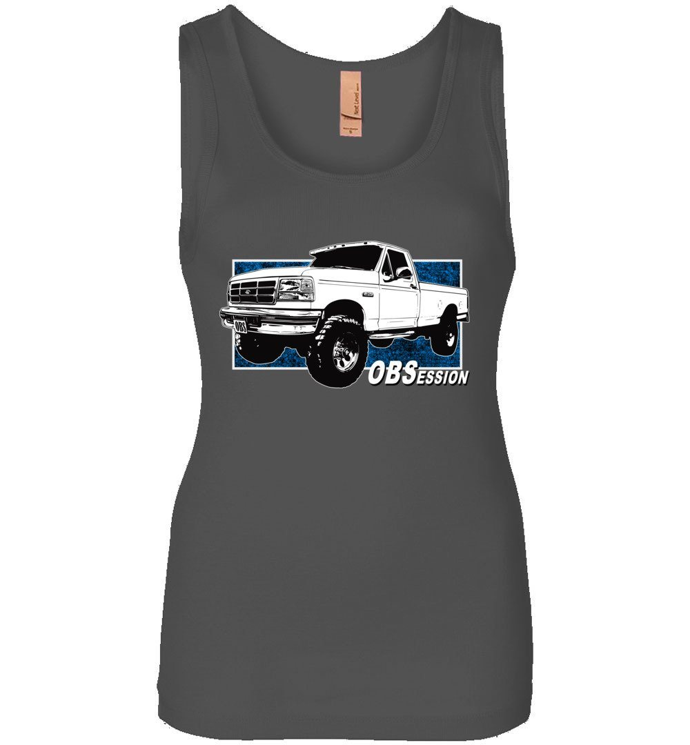 OBS Ford Truck OBSession F350 F250 Powerstroke Womans Tank Top