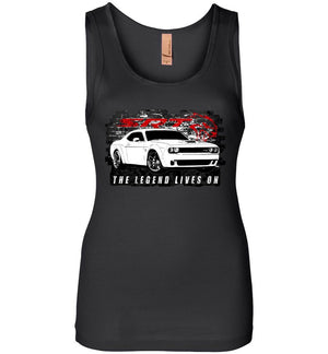 Dodge Challenger Tank Top | Dodge Demon T-Shirt | Mopar Apparel | Aggressive Thread Muscle Car Apparel