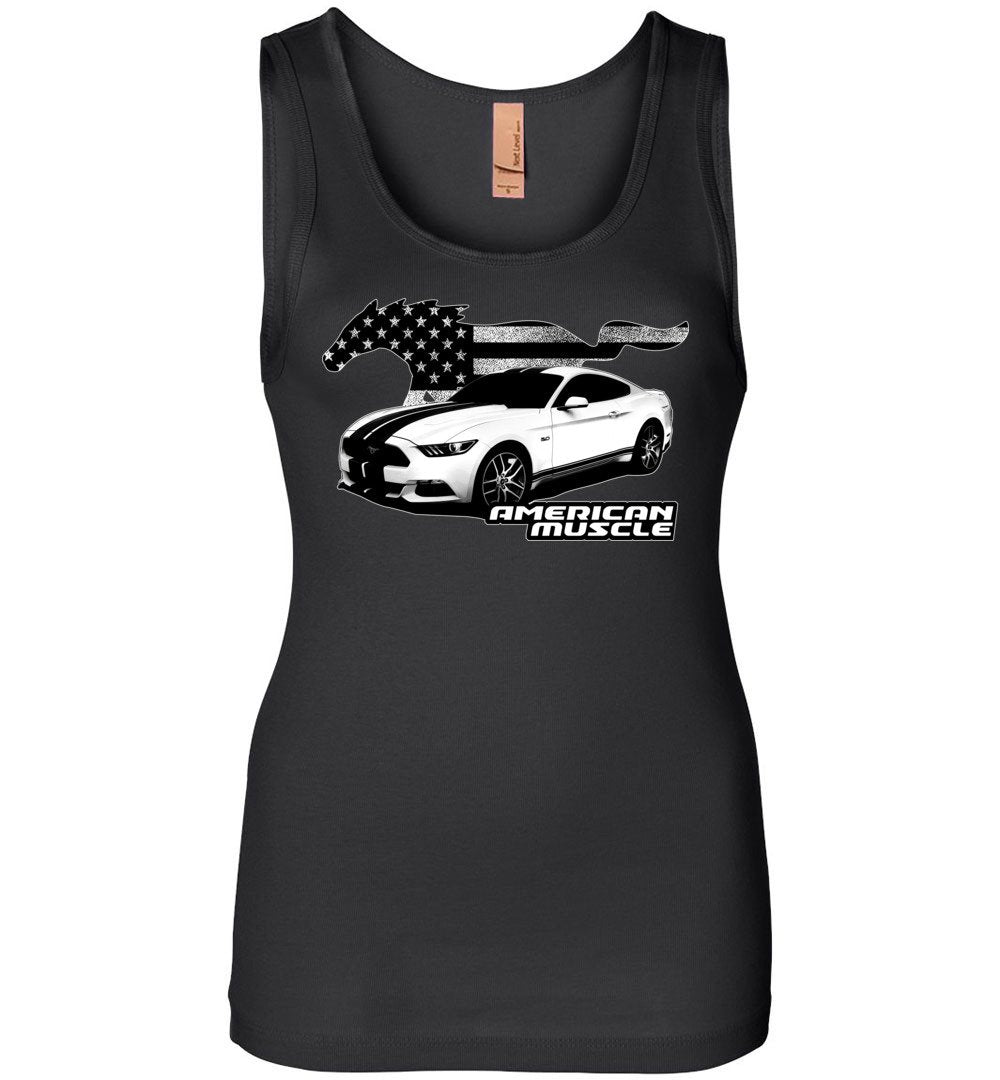 Ford Mustang T-Shirt | Aggressive Thread Muscle Car Apparel