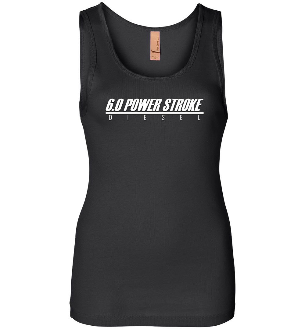 6.0 Power Stroke Shirt | Powerstroke Tank | Aggressive Thread Diesel Truck Apparel