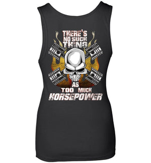Gearhead Performance Vehicle Enthusiasts Womens Tank Top