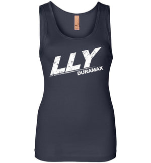 LLY Duramax Burning Diesel Womens Tank Top