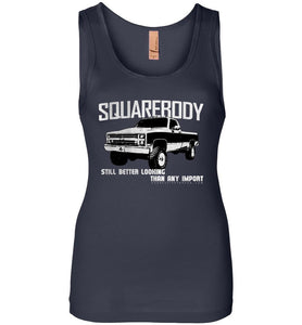 Squarebody Chevy Truck Premium Womens Tank Top