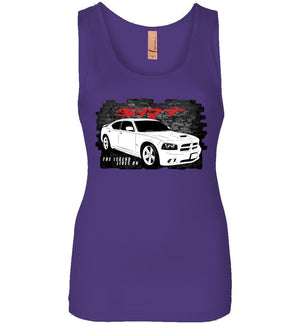 2005-2010 Dodge Charger SRT8 Tank Top | Aggressive Thread Muscle Car Apparel