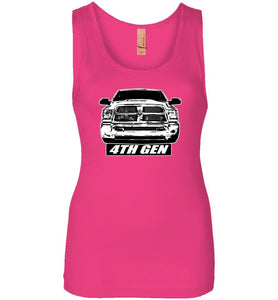 4TH Gen Ram Womens Tank Top T-Shirt