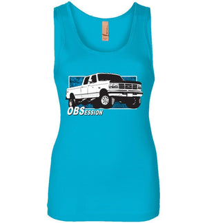 Ford OBS Crew Cab OBSession Womens Tank Top