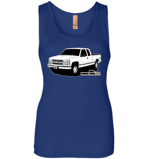 Chevy OBS Z71 Womens Tank Top