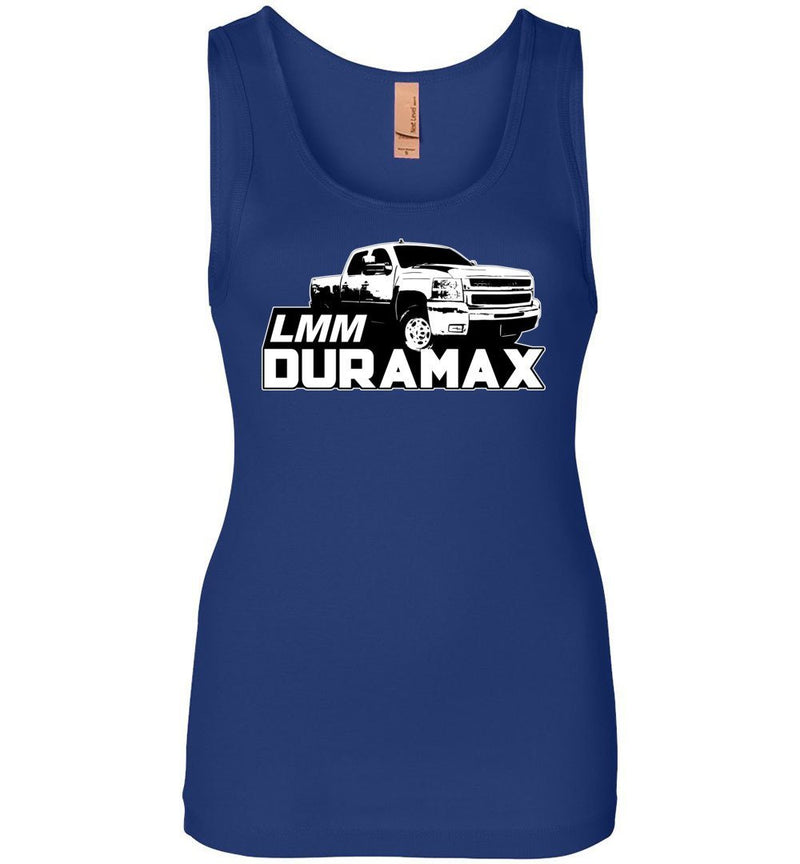 Duramax Tank Top Shirt | LMM Duramax  | Aggressive Thread Diesel Truck Apparel