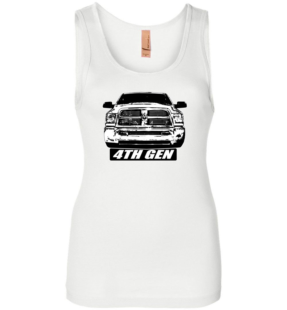 4th Gen Ram Truck Tank Top | Aggressive Thread Diesel Truck Apparel