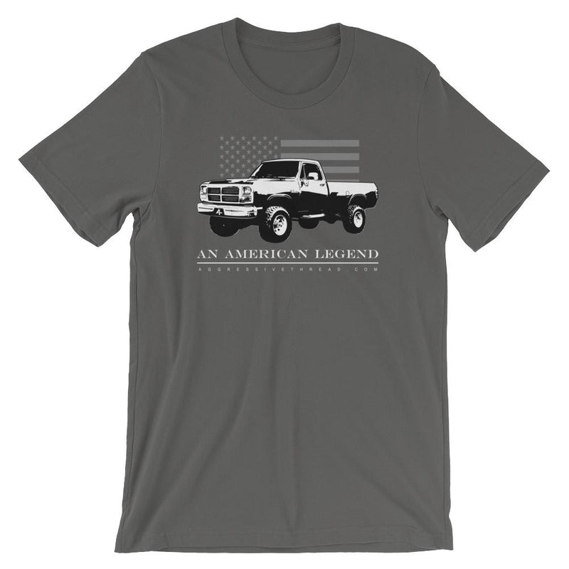 1st Gen Dodge Ram | First Gen Cummins | Aggressive Thread Diesel Truck T-Shirt