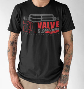 24 Valve Second Gen Turbo Diesel T-Shirt