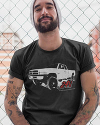 2nd Gen Cummins T-shirt | Dodge Ram | Aggressive Thread Diesel Truck Apparel Collection