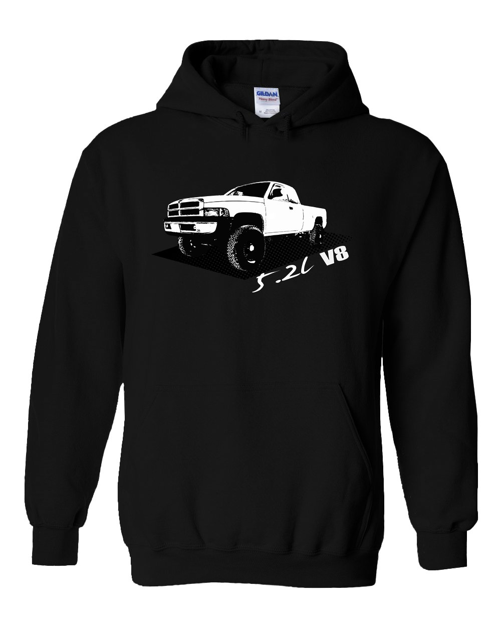 2nd Gen Dodge Ram Hoodie | Dodge Sweatshirt | Aggressive Thread Truck Apparel