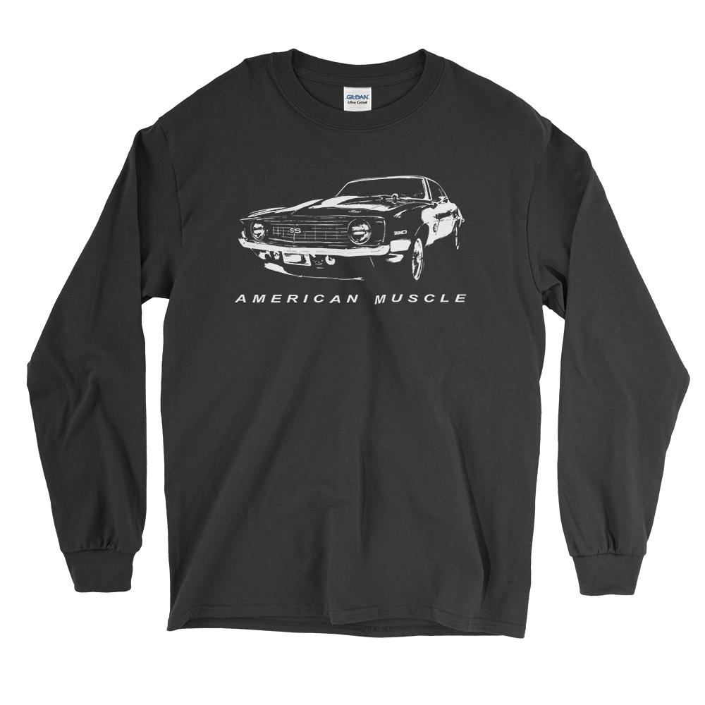 1969 Chevrolet Camaro Amercan Muscle Car LS T-Shirt