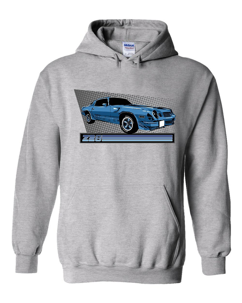 Camaro Hoodie Sweatshirt | 2nd gen Camaro | Aggressive Thread Muscle Car Apparel