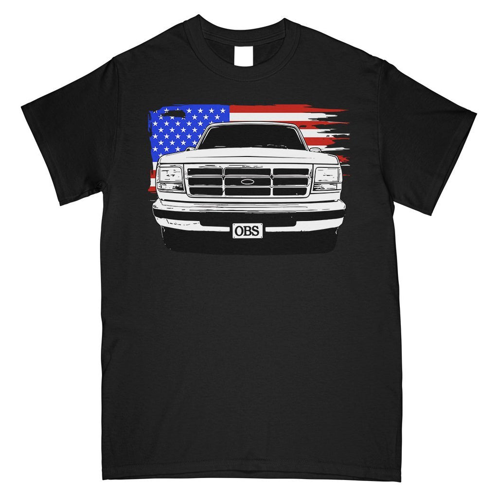 OBS Ford Truck T-Shirt | Aggressive Thread Truck Apparel