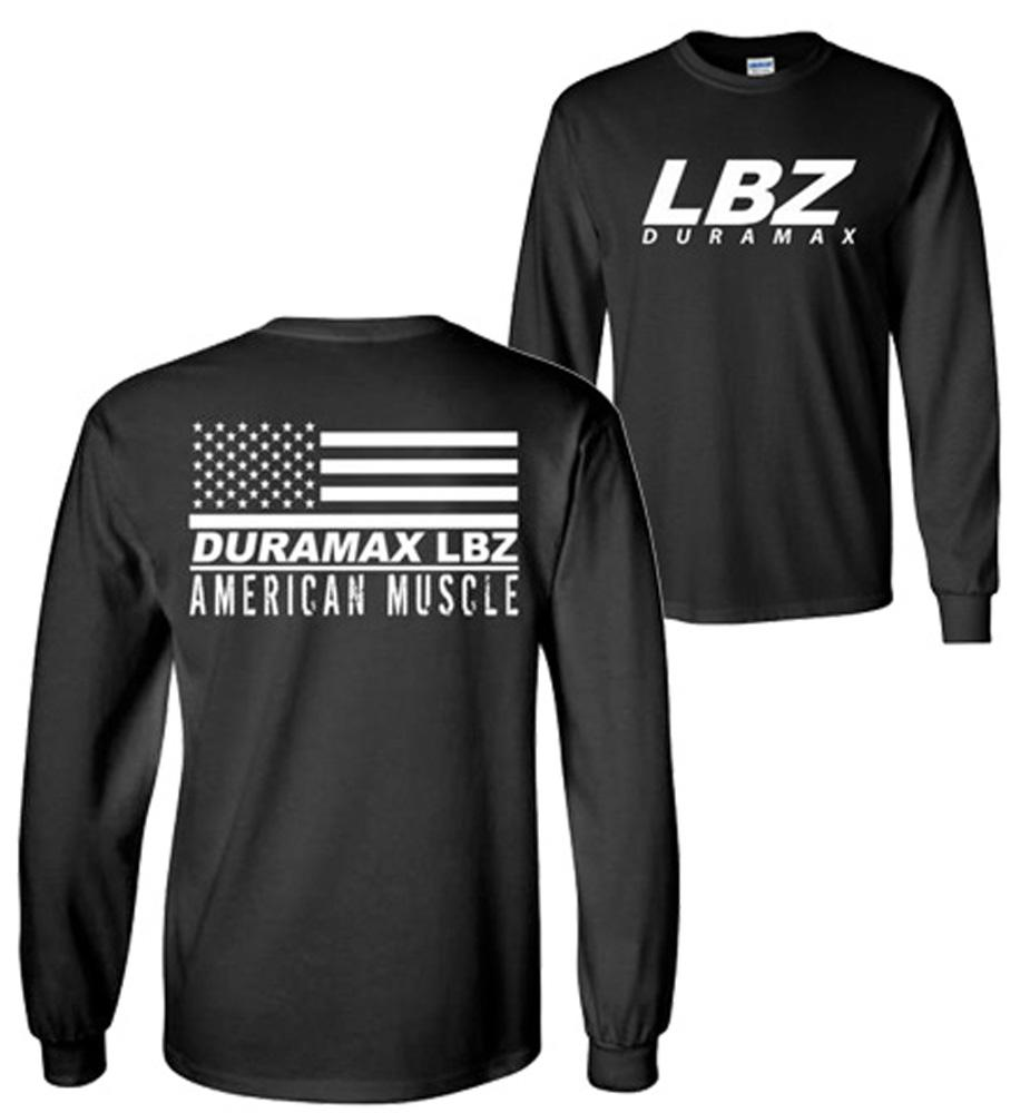 LBZ Duramax T-Shirt | Duramax Shirt | Aggressive Thread Truck Apparel