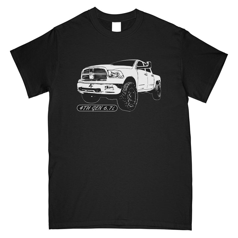 4TH Gen 6.7l Diesel Truck T-Shirt