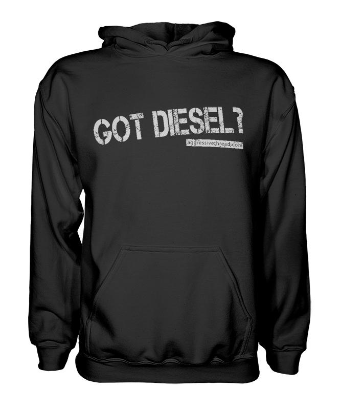 This hoodie makes a great gift idea for Powerstrok, Duramax, or Cummins Diesel truck drivers!