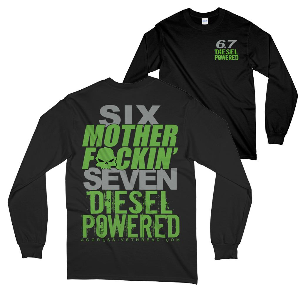 Power stroke Ram or Powerstroke 6.7 Long Sleeve T-Shirt