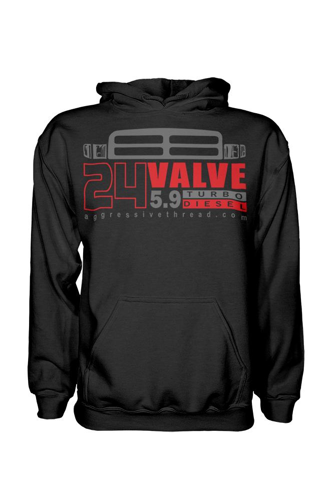 This hoodie is perfect for 1998-2002 Dodge Ram owners with Cummins 24v 5.9l Diesel Engines!