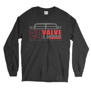 24V 2nd Gen Cummins Diesel Truck Long Sleeve T-Shirt