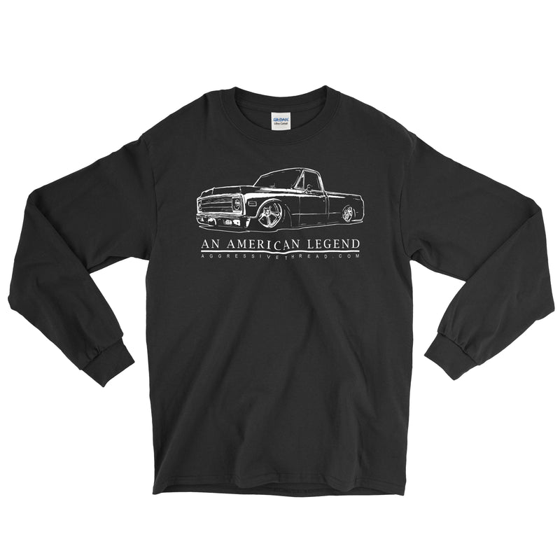 70-72 Chevy C10 Truck T-Shirt | Aggressive Thread Truck Apparel