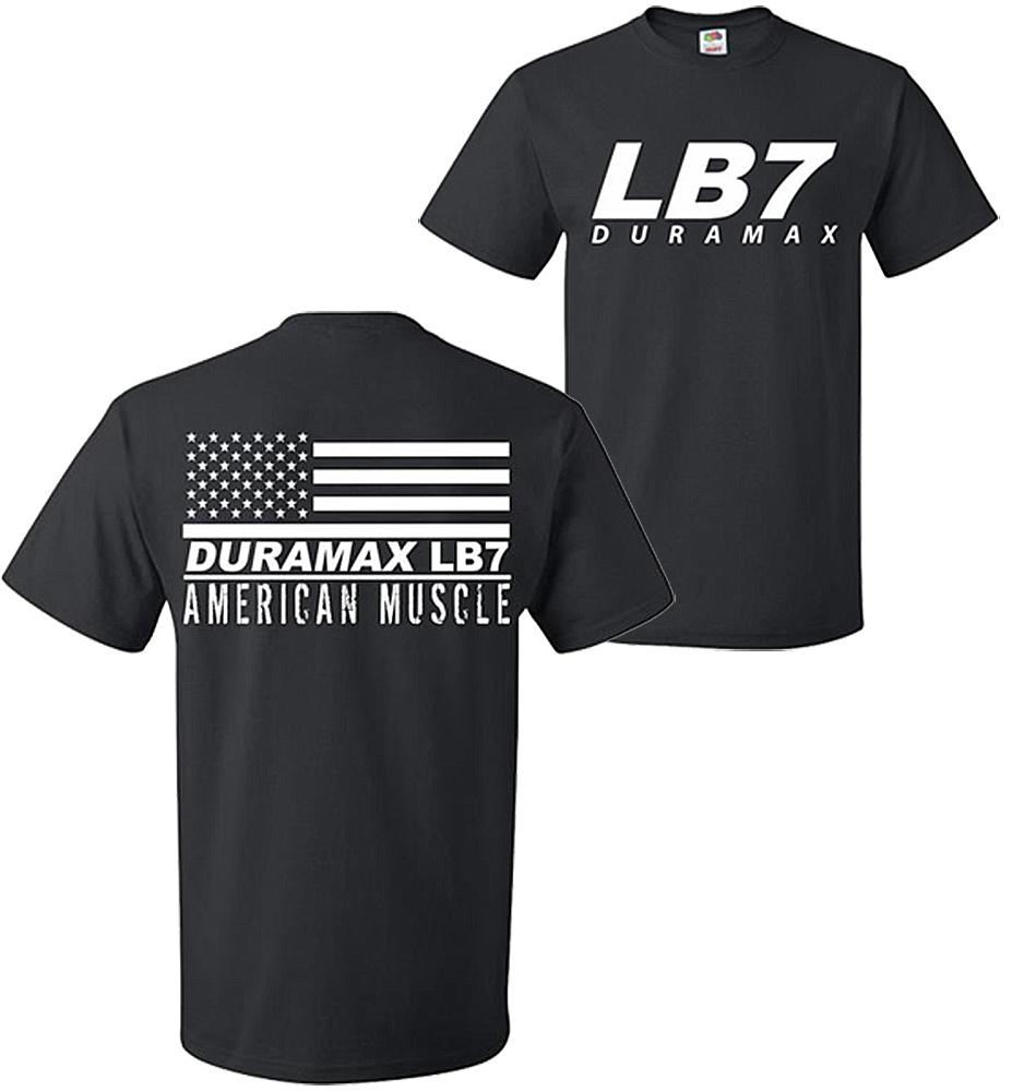Duramax T-Shirt | LB7 Duramax Shirt | Aggressive Thread Diesel Truck Apparel