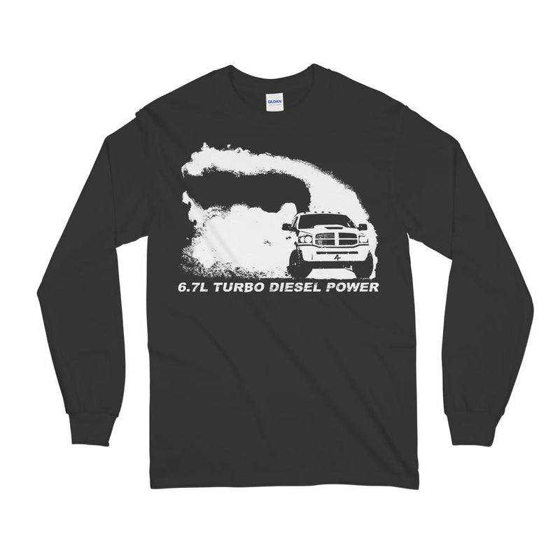 6.7 3rd Gen Cummins Diesel Long Sleeve T-Shirt