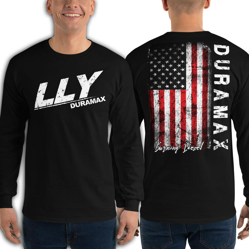 LLY Duramax Burning Diesel Long Sleeve T-Shirt
