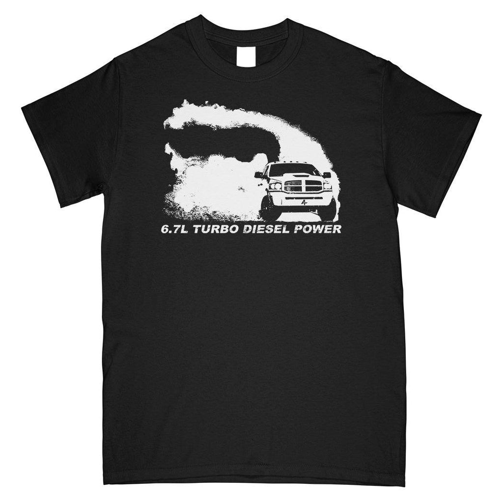 6.7 3rd Gen Cummins T-Shirt | Aggressive Thread Diesel Truck Apparel