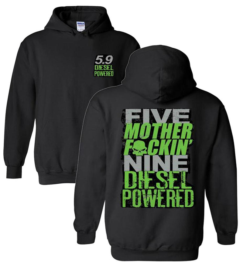 Cummins Hoodie Sweatshirt | Cummins Apparel | Aggressive Thread Diesel Truck Apparel