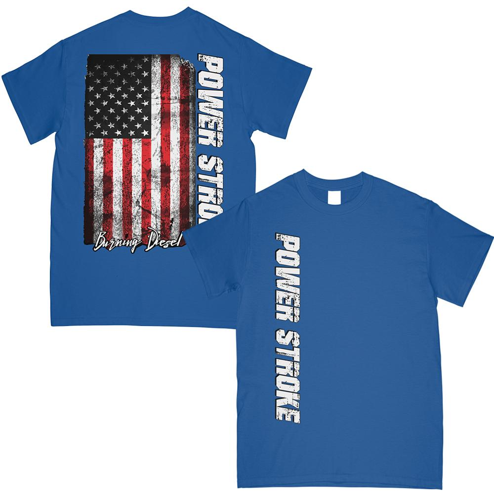Powerstroke T-Shirt |  Power Stroke | Aggressive Thread Diesel Truck Apparel