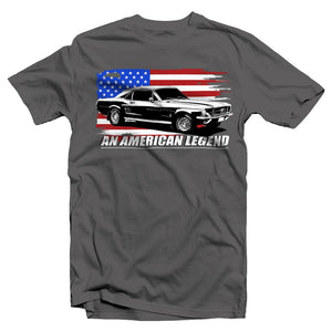 67 Ford Mustang T-Shirt | Aggressive Thread Muscle Car Apparel