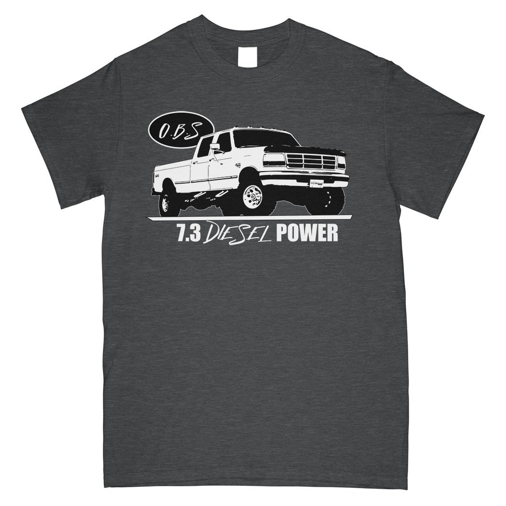 Crew Cab OBS Ford Truck | Powerstroke hat | 7.3 Power Stroke | Aggressive Thread Diesel Truck Apparel