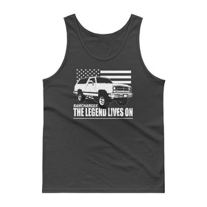 First Gen Dodge Ramcharger Tank Top Shirt | Aggressive Thread Truck Apparel