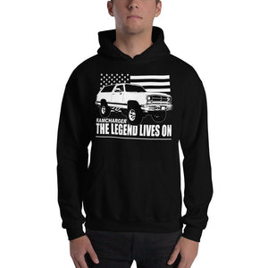 First Gen Dodge Ramcharger Hoodie Sweatshirt | Aggressive Thread Truck Apparel