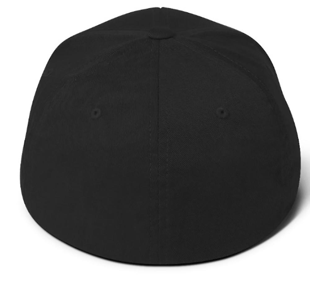 LS 6.0 Vortec Flexfit Hat Structured Twill Cap (closed back)