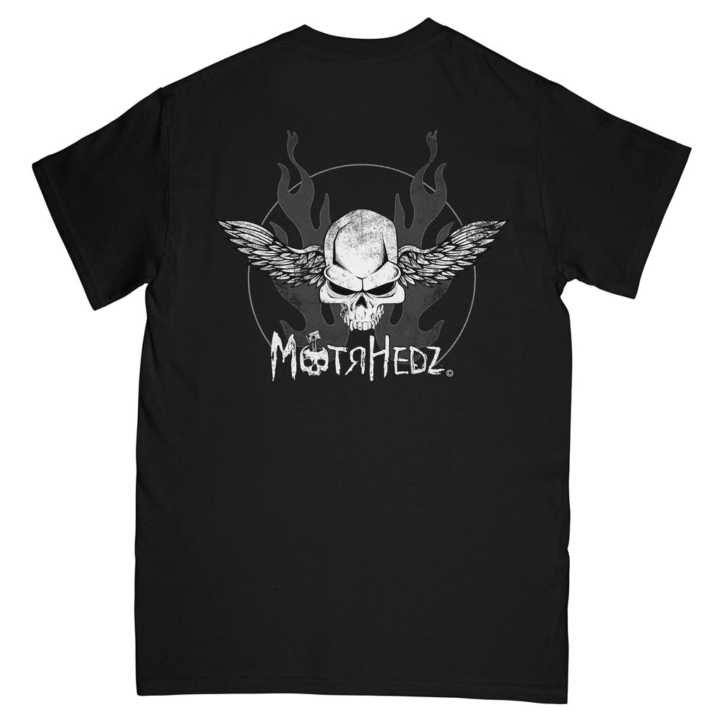 MotrHedz Skull & Wings T-Shirt