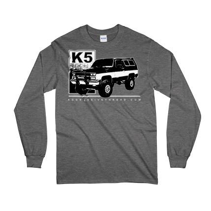 Chevy Chevrolet K5 Blazer Long Sleeve T-Shirt