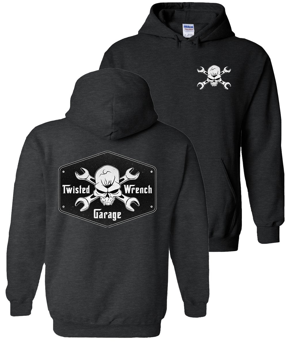 Mechanic Hoodie | Diesel Mechanic Sweatshirt | Gift For Mechanic | Aggressive Thread Mechanic Apparel