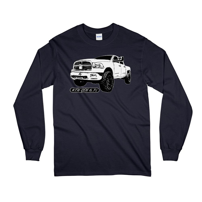 4th Gen Ram 6.7l Cummins Long Sleeve T-Shirt