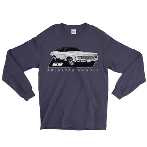69 Impala American Muscle Long Sleeve T-Shirt