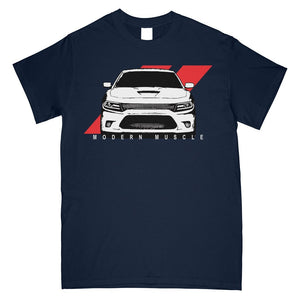 Dodge Charger SRT T-Shirt | Mopar T-shirt | SRT 6.4 | Aggressive Thread Muscle Car Apparel