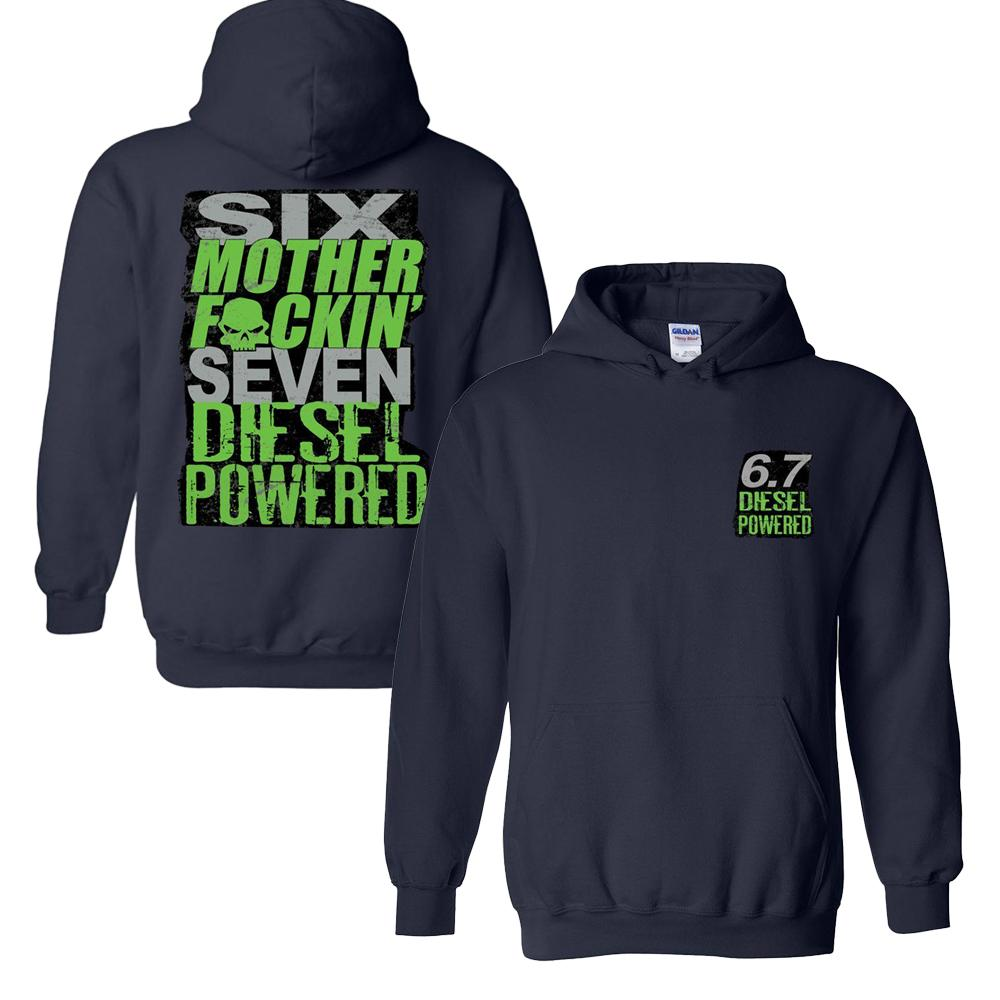 6.7 MF'N Power Stroke Powerstroke or Ram Hoodie Sweatshirt (🏷️10% OFF - Purchase 2 Or More Items)