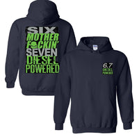 6.7 MF'N Power Stroke Powerstroke or Ram Hoodie Sweatshirt