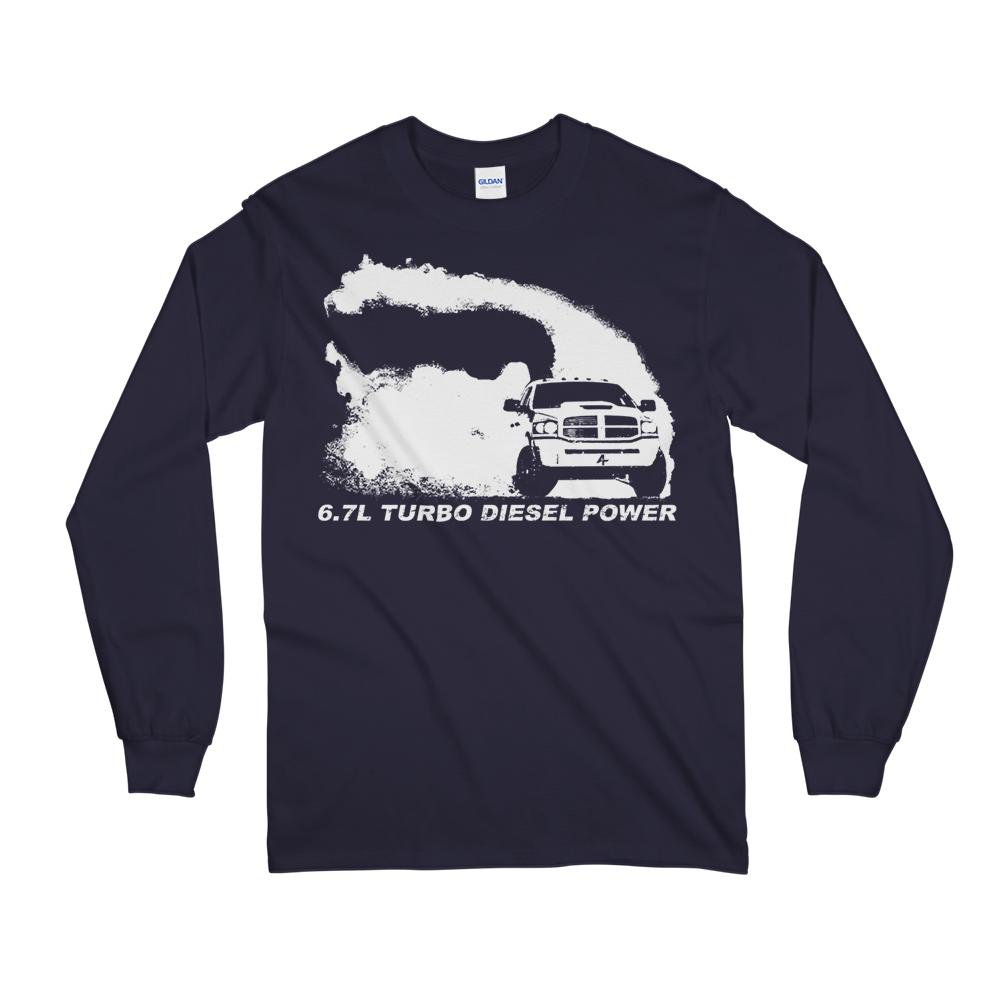 6.7 3rd Gen Burnout Long Sleeve T-Shirt