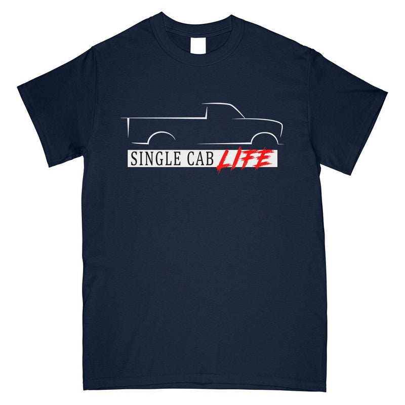 Single Cab Truck T-Shirt | Aggressive Thread Truck Apparel