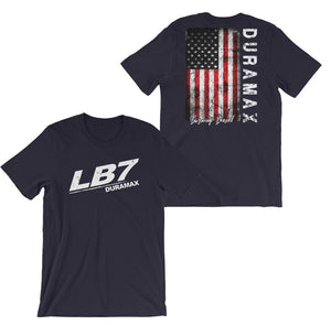 LB7 Duramax T-Shirt | Duramax Shirt | Aggressive Thread Truck Apparel